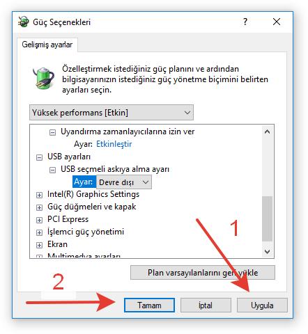 Windows 7/8/8.1/10 Uyku Modu Sorunu 10