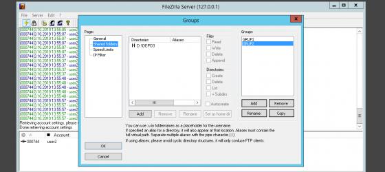 Bu makalemizde sizlere Filezilla server kullanarak, farklı kullanıcılara ve gruplara farklı izinler vererek premium download yani…